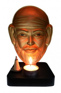 Shirdi Sai Baba Gold Mini Sculpture