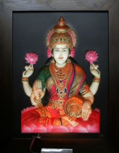 Lakshmi ABR Antique Wood Frame