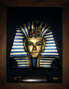 Tutankhament ABR Large Antique Wood Frame